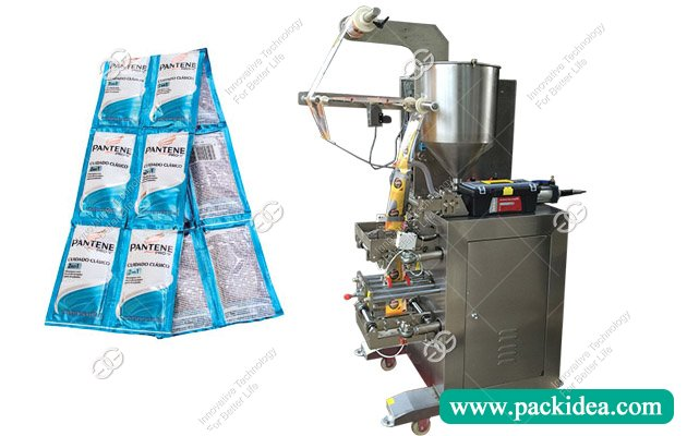 Shampoo Filling Packing Machine