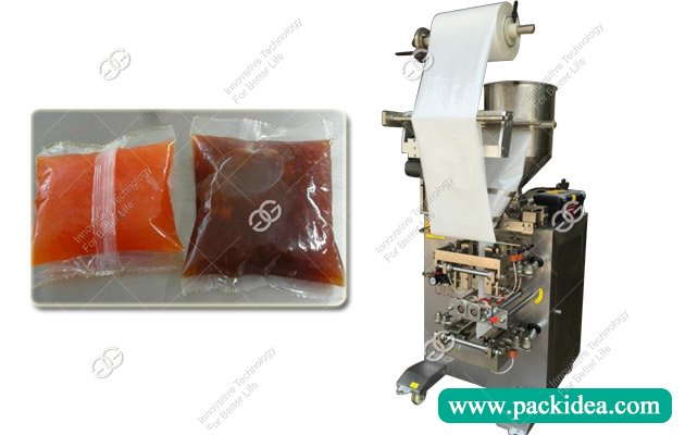 Automatic Sauce Pouch Packing Machine