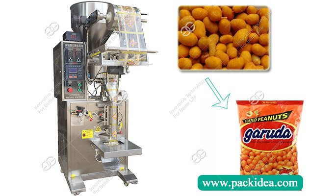 Coated Peanuts Packaging Machine