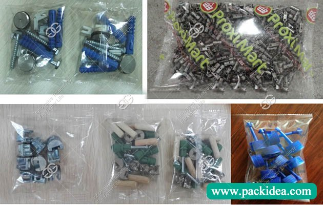 Nut and Bolts Packing Machine