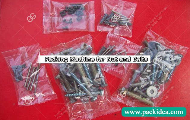 Packing Machine for Nut and Bolts