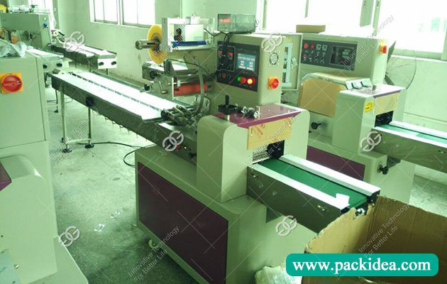 Pillow Type Packing Machine for Soap to Tanzania
