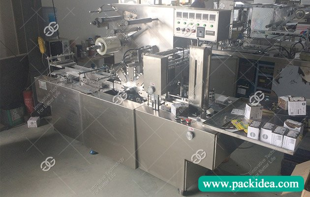 Cellophane Wrapping Machine for Cosmetics to USA