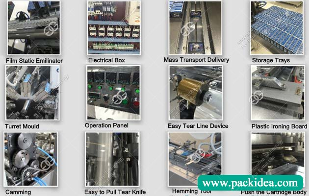 Cellophane Overwrapping Machine Parts