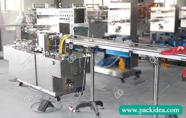 Cellophane Wrapping Equipment to India