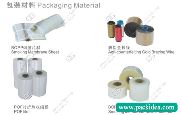 Packing Material for Cello Wrapping Machine