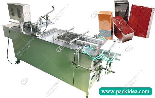 Manual Cellophane Overwrapping Machine