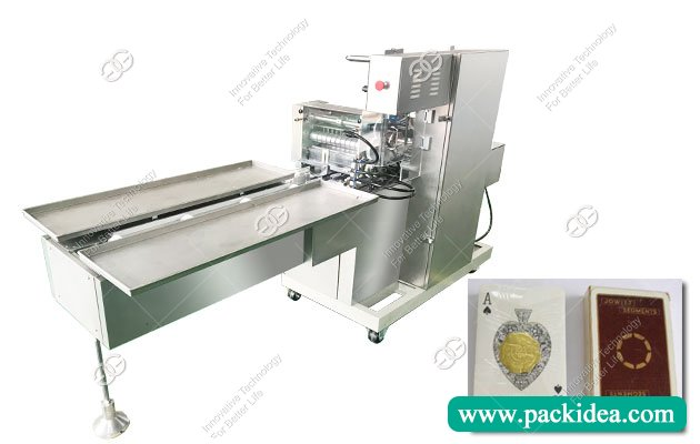 Playing Cards Cellophane Wrapping Machine