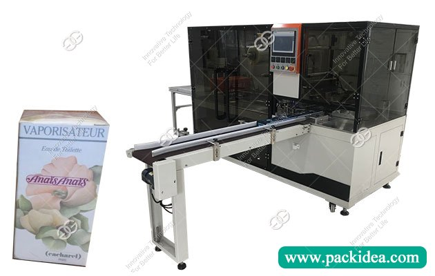 cellophane wrapping machine for cigarettes