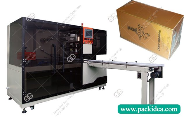 cellophane wrapping machine for 10 boxes cigarette
